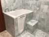 Stylish Walk In Tub And Shower Combination Mansfield Plumbing