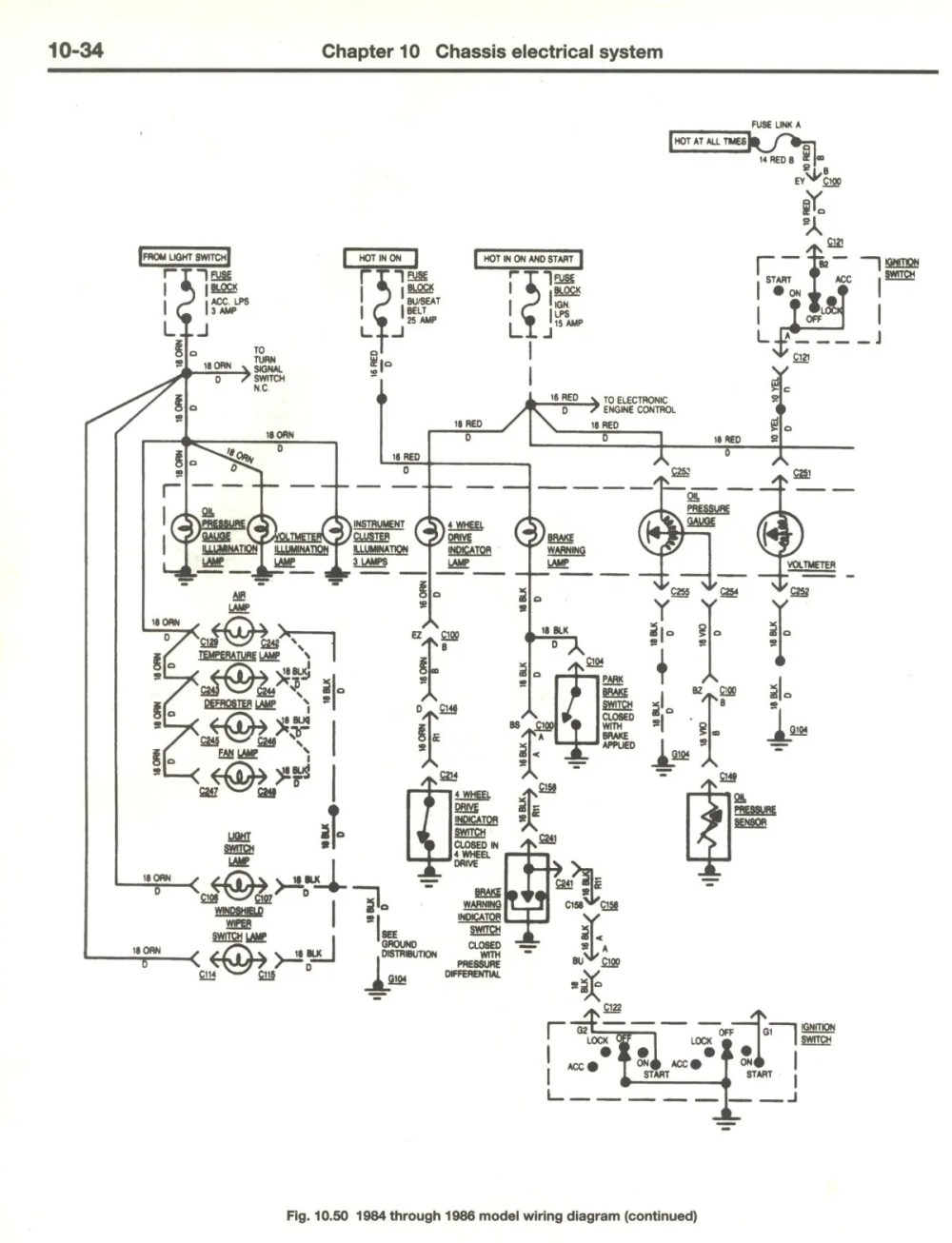 medium resolution of cj7 headlight switch wiring diagram