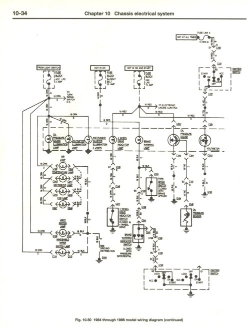 small resolution of cj7 headlight switch wiring diagram