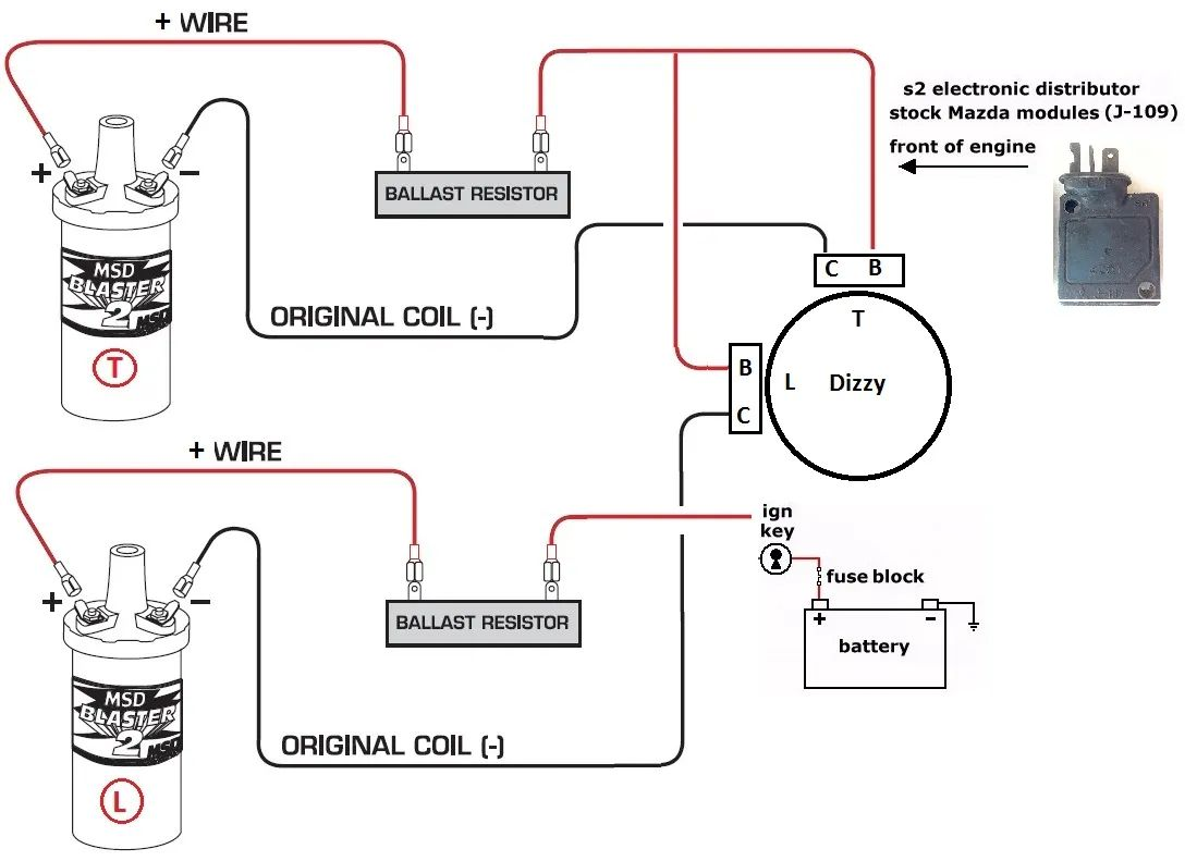medium resolution of msd blaster coil wiring diagram
