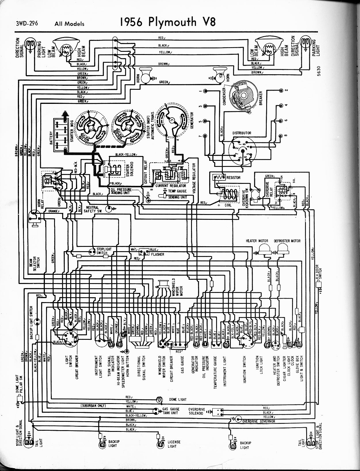 hight resolution of 1956 1965 plymouth wiring the old car manual project rh oldcarmanualproject com pontiac  [ 1251 x 1637 Pixel ]