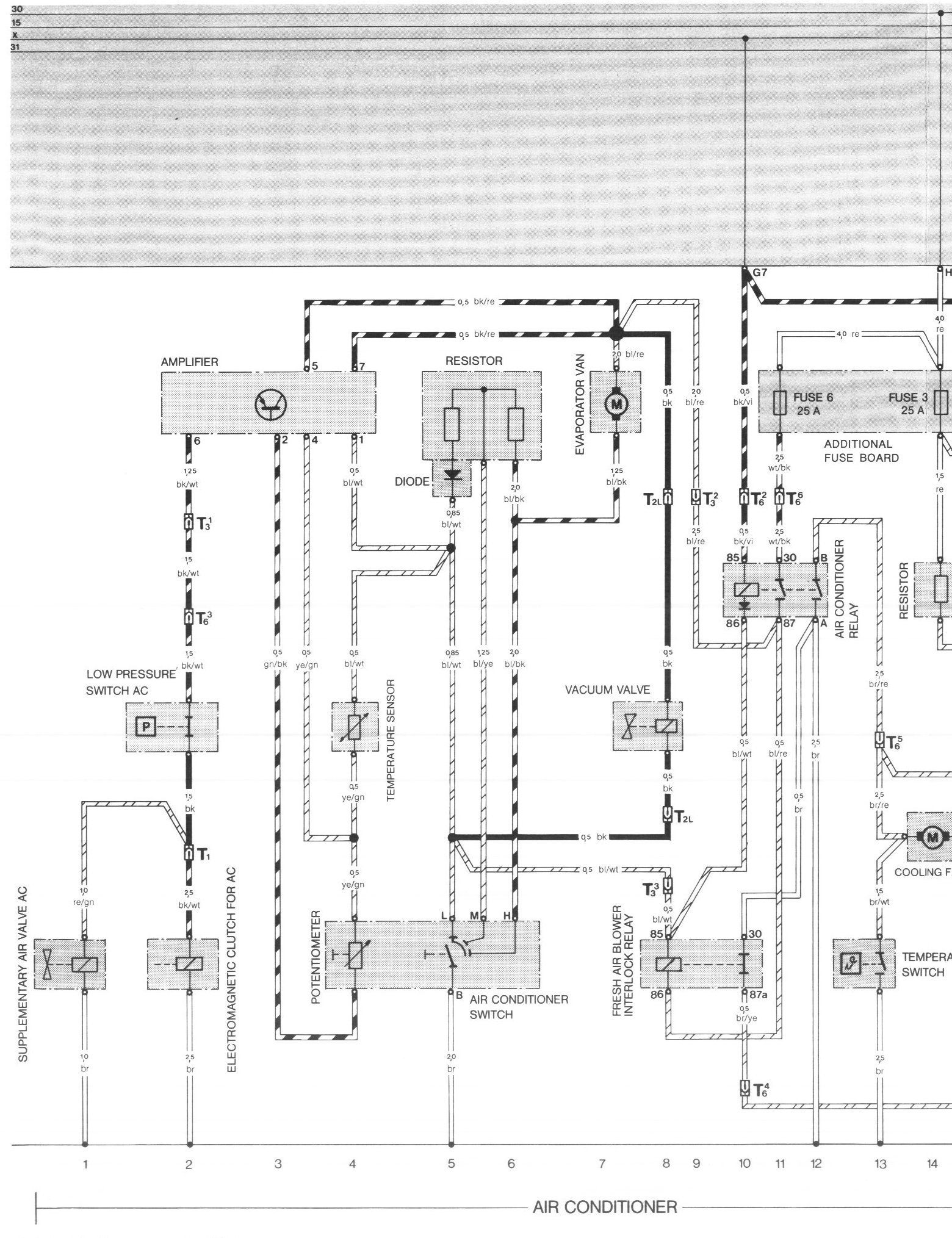 hight resolution of 84 944 fuse box diagram wiring librarypelican parts porsche 924 944 electrical diagrams porsche 944 fuse