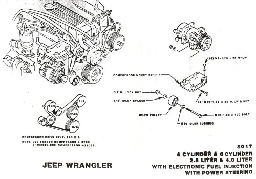 small resolution of wrg 87 jeep 4 0l engine belt diagram
