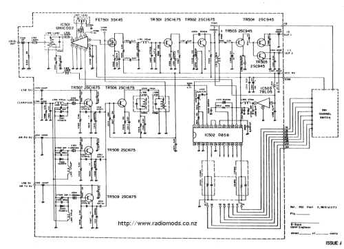 small resolution of the defpom cb and ham circuit diagram page