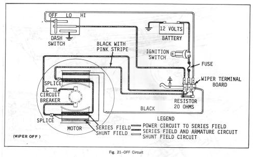 small resolution of chevy truck wiper motor wiring diagram