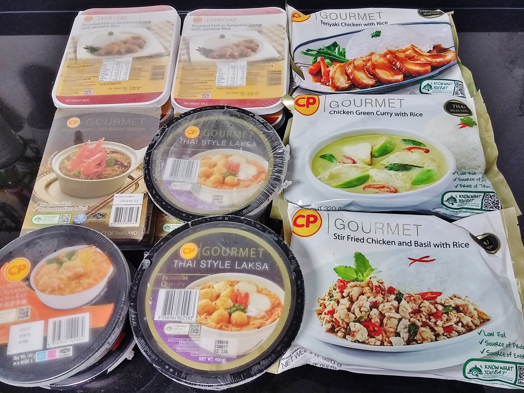 cp foods ready to eat frozen meals and
