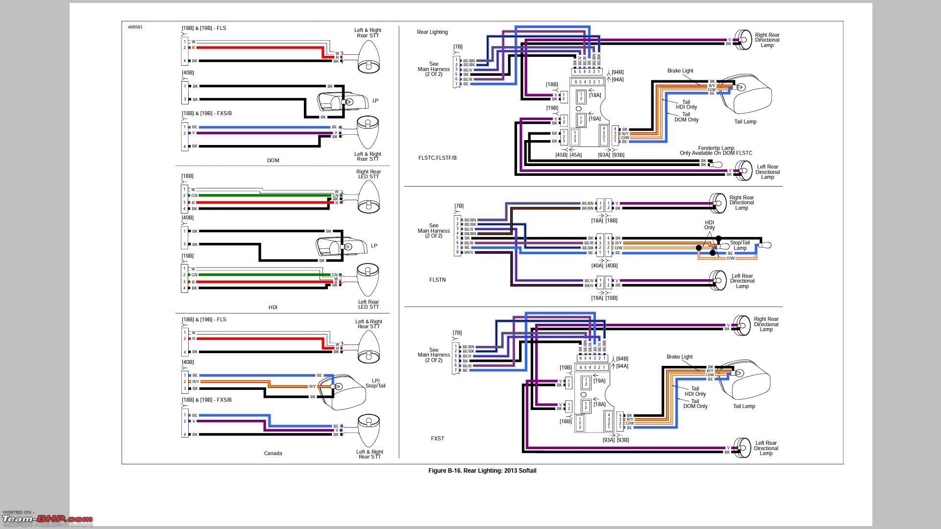 89 Softail Wiring Diagram - Diagrams Catalogue on