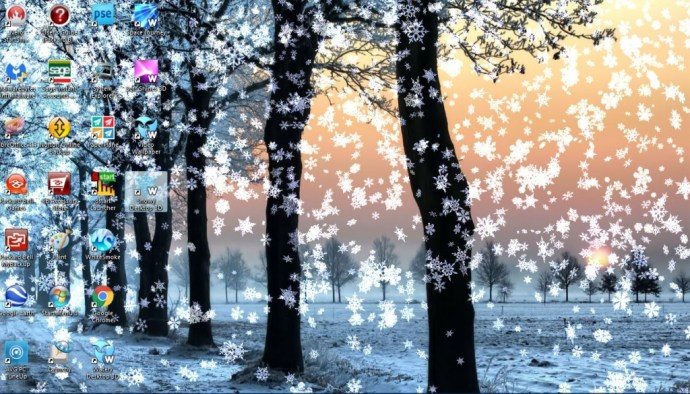 Live Winter Snow Fall Background Wallpaper How To Add 3d Animated Wallpapers To The Windows 10 Desktop