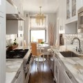Small kitchens big design the potted boxwood