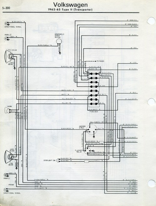 small resolution of thesamba type 2 wiring diagrams