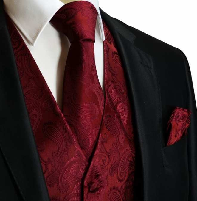 5 Ways To Style Your Burgundy Pocket Square With The Right Suit