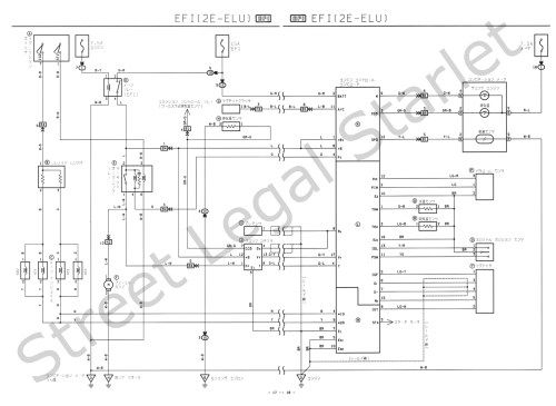 small resolution of wire diagram a toyota starlet ep82