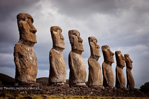 Mysterious Statues Moai Of Easter Island Traveling Solemates