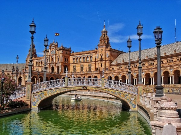 Day In Sevilla Of Beautiful Cities