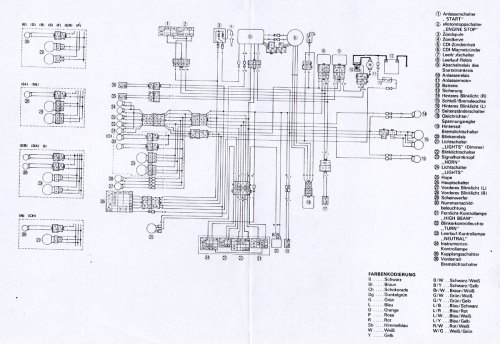 small resolution of wiring diagram yamaha sr 500