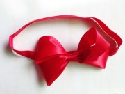 snow white headband red bow hairband