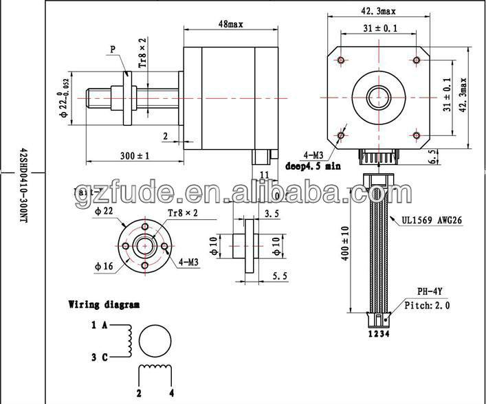 Casun micro linear stepper motor nema 17 ,12v linear