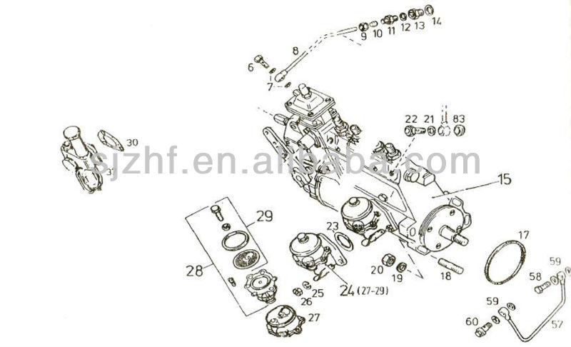 Deutz Diesel Engine Parts Diaphragm Type Fuel Transfer