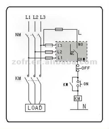 Phase Failure Relay Wiring Diagram, Phase, Get Free Image