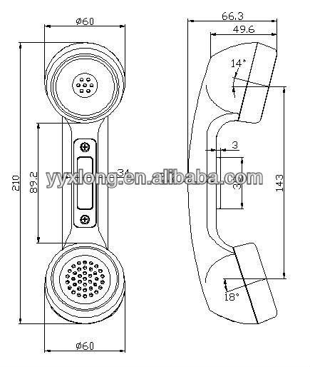 Phone Handset Or Headset Wiring Diagram Phone Connector