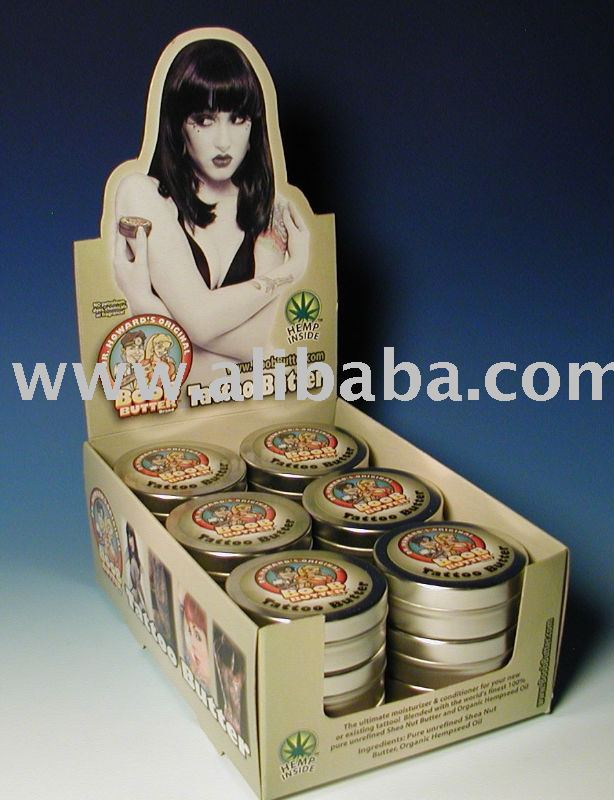 See larger image: Dr Howard's Original Boob Butter Brand Tattoo Butter