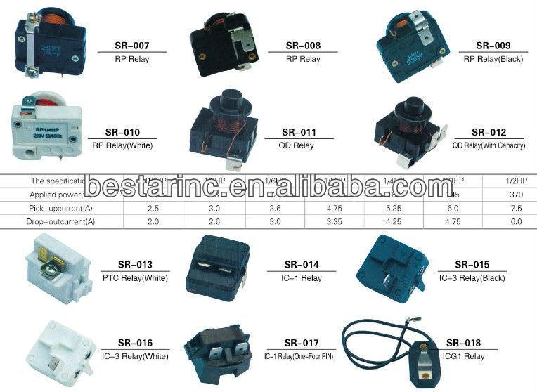 embraco compressor relay