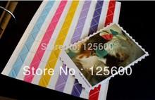 White Black Golden PHOTO ALBUM SCRAPBOOKING PVC Photo Corner Stickers Photo Holders 102pcs sheet 10sheets lot
