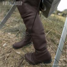 Attack on Titan Cosplay Shoes Mikasa Ackerman Shoes