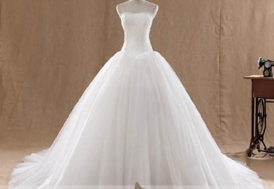 Ball Gown Wedding Dresses White Dresses For Ballroom