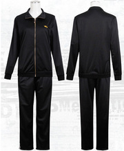 In Stock Fashion Cos Adult Noragami Yato Cosplay Costume Sports Suit Whole Set Clothes Pants scraf