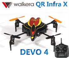 Original Walkera QR Infra X with DEVO 4 Transmitter MINI RC Quadcopter RTF
