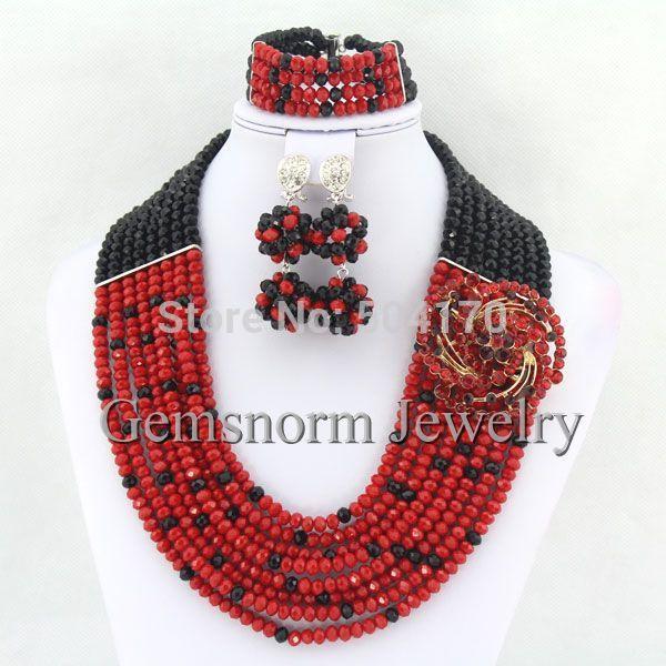 Fashion 925 Sterling Argent Massif Perles Bracelet Collier Bijoux Sets S080