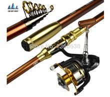 Telescopic Carbon Fishing Rod 2 1 2 4 2 7 3 0 3 6M High Quality