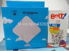 Unlocked Huawei E5372s 4G TDD 2300MHZ LTE Cat4 Mobile Hotspot WiFi Modem Router 35dbi TS9 Antenna