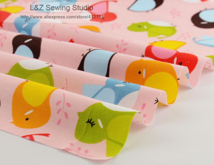 Online kopen Wholesale vogel print stof uit China vogel