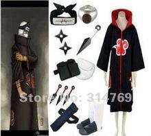 Free Shipping Apparel Naruto Cosplay Costume Naruto Akatsuki Kakuzu Cosplay Costume Set Halloween Costumes Party Cosplay