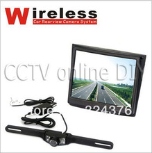 2 4G Wireless Car Rear view Back Up Camera System Wide Angle Night Vision with 3