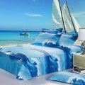 Bedding comforter duvet covers sets 4pcs full queen home textile