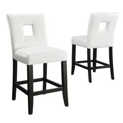 Counter Height Chairs With Back Lifetime Adirondack Chair Sam S Club Home Origin Look Out Squared Set Of 2 7085292 Hsn