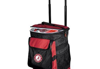 Logo Chair Rolling Cooler Alabama University Hsn