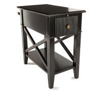 SEI X Base Side Table with USB Port - 8490966 | HSN