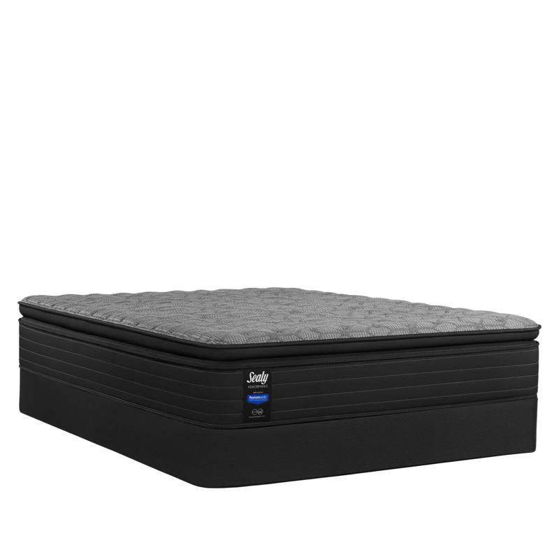 new sealy posturepedic hamilton plush euro pillowtop queen mattress set