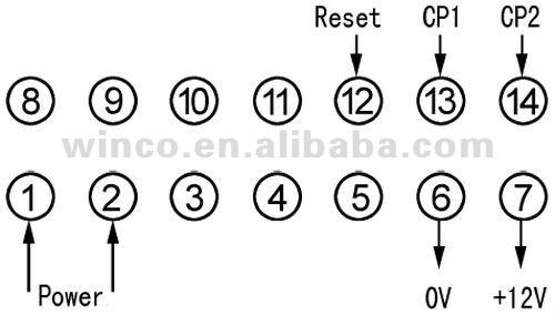 Digital Led Reversible Accumulative Counter Dhc9j-j Manual