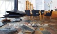 Indoor Walkway Stone Floor Tiles/ Natural Rustic Slate ...