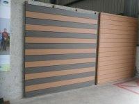 145s21 Custom-length Wall Panel Wall Paper Wood Plastic ...