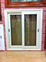 Wholesale Bronze Color Anodized Aluminium Window for South ...