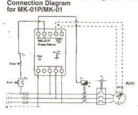 MK-01 phase failure device relay, View phase failure