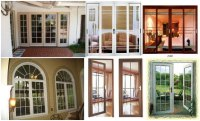 Thermal Break Aluminum French Casement Window And Door ...