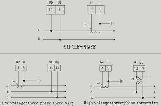 Digital Power Factor Meter Connection Diagram Efcaviation Com