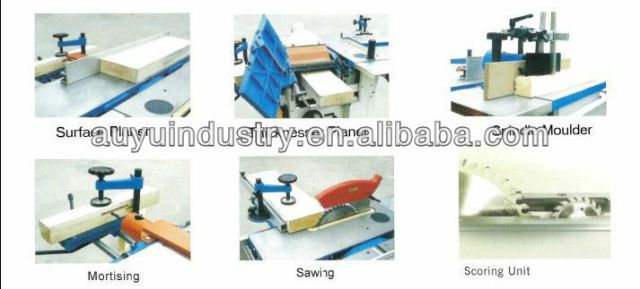 ALM300C multipurpose woodworking machine /woodworking combined machine